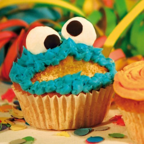 "Greeting card ""cookie monster"""